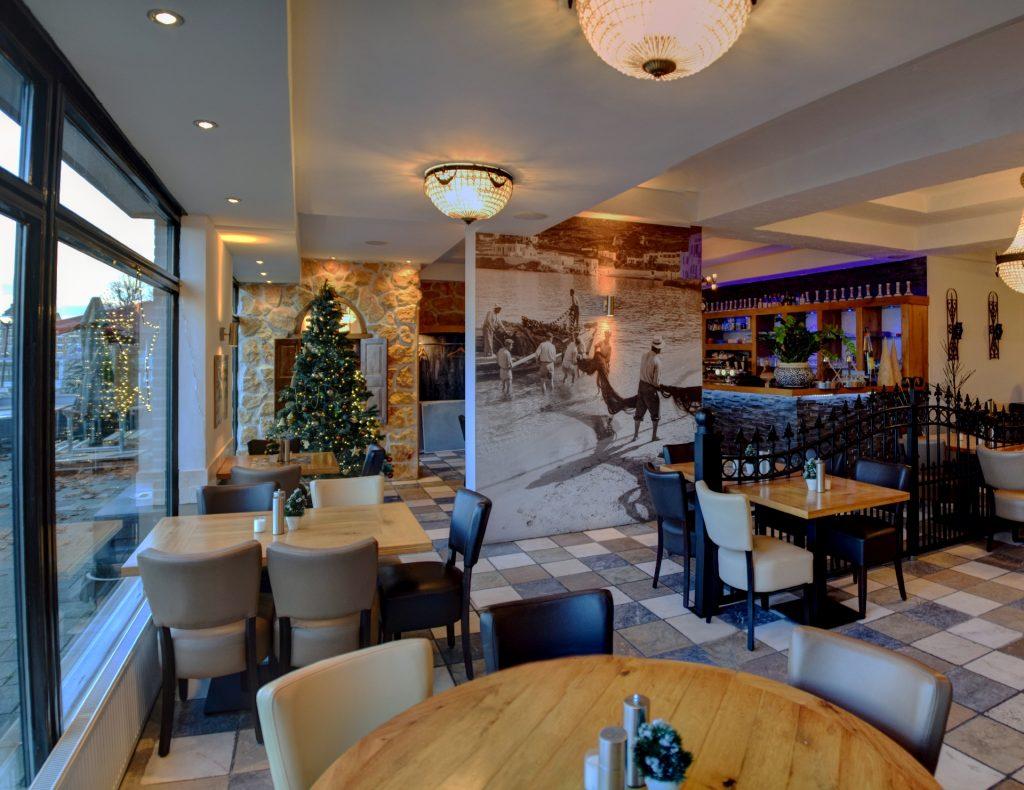 Kerst bij Grieks Restaurant El Greco Huizen
